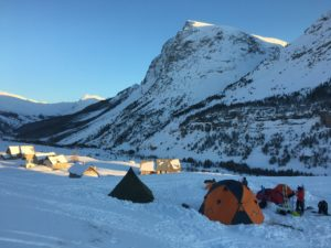 Base camp Kite Legende